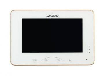 DS-KH8301-WT Video Intercom Indoor Station with 7-inch Touch Screen