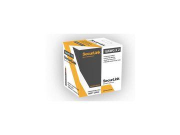SecurLink JECB-SEC-PCC-182 FAS/LVT Copper Thermostat Electrical Cable 18/2/1000ft