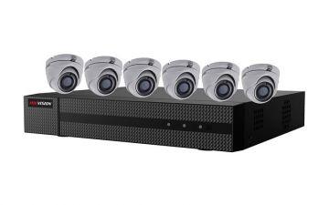 EKT-K82T26 - Hikvision 2MP Value Express TurboHD Kits (DVR-2TB + 6 Cameras)