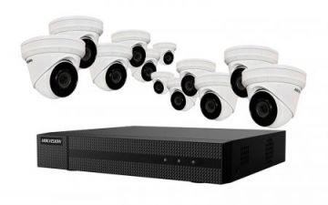 EKI-K164D412 - Hikvision 4K Value Express Kits(NVR-4TB + 12 Cameras)