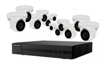 EKI-K164T412 - Hikvision 4K Value Express Kits(NVR-4TB + 12 Cameras)