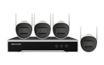 Hikvision EKI-K41B44W Wi-Fi Camera and NVR Kit (NVR-1TB + 4 Cameras)