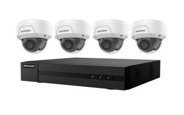 EKI-K41D44 - Hikvision 4K 4-Channel Value Express Kits(NVR-1TB + 4 Cameras)