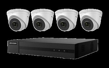 EKI-K41T44 - Hikvision 4K 4-Channel Value Express Kits(NVR-1TB + 4 Cameras)