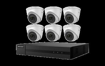 EKI-K82D46  Hikvision 4K 8-Channel Value Express Kits (NVR-2TB + 6 Cameras)