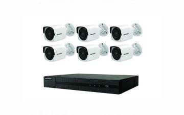 Hikvision EKI-K82B86 4K Value Express Kit (NVR-2TB + 6 Cameras)
